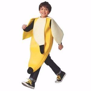 Kid's Youth L/XL Banana Halloween Costume
